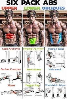 🔥 SIX PACK ABS WORKOUT 🔥Decline Crunches 💥 Technique Initial position: Level the bench bench for press from 30 to 45 degrees depending on the desired compl Gym Workout Tips, Six Pack Abs Workout, Best Ab Workout, Abs Workout Routines, Aerobics Workout, Weight Training Workouts, Six Pack Abs Men, Oblique Workout, Training Plan