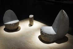 new york's johnson trading gallery presented a solo show of british designer max lamb on the occasion of design miami / basel 2011.