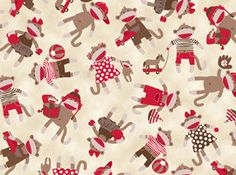 Hey, I found this really awesome Etsy listing at https://www.etsy.com/listing/161006596/sock-monkey-fabric-monkey-around-tossed
