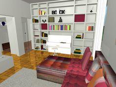 la libreria con il pianoforte  www.kamaleontika.it