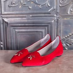 Swan -  red suede  #altiebassi #autumn #winter #italianshoes