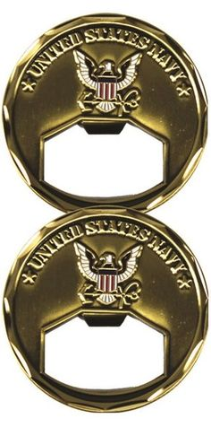Navy Challenge Coin/Bottle Opener