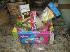 Homemade Easter Basket