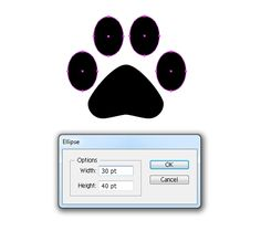 Quick Tip: How to Create a Simple Paw Print Scatter Brush in Adobe Illustrator - Tuts+ Design & Illustration Tutorial