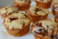 Easy cinnamon roll muffins