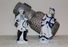 Ancient German porcelain figurine Made in Germany by Vintage4Moms