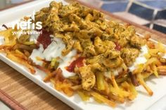 Köri Soslu Çökertme Kebabı ( Tavuk ) Tarifi Mexican, Meat, Chicken, Ethnic Recipes, Food, Koken, Meals, Mexicans, Cubs