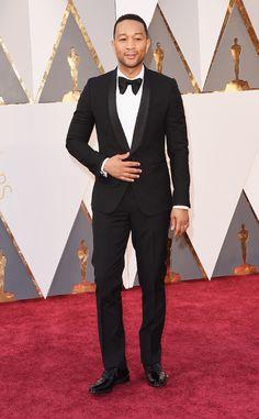 John Legend from Oscars 2016: Red Carpet Arrivals | E! Online
