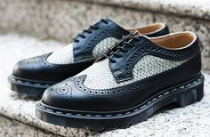 """Dr. Martens """"Made in England"""" MIE 3989 Brogue Shoe"""