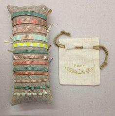 ♡ Nouvelle créatrice - Je vous présente Plune ♡ Venez découvrir ses petits bracelets en perles miyuki à la boutique ! Les inutiles, passage Molière, Paris 3ème.