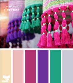bright color combos...