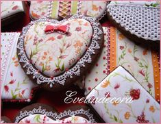 Provencal Fabric Cookies ~ Cookie Connection