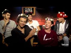 Tyler Oakley Interviews One Direction Part 2 Just Love, Love Of My Life, Music Is My Escape, One Direction Videos, Tyler Oakley, 1d And 5sos, To Loose, Cool Bands, Harry Styles