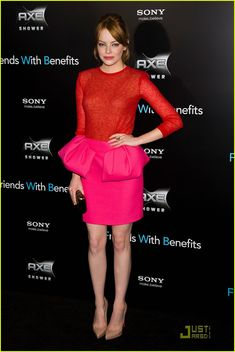 Emma Stone: 'Friends with Benefits' Premiere!