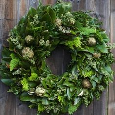 seasonal Circle Home and Design Cedar magnolia Realtor Gifts, Evergreen, Magnolia, Christmas Wreaths, Floral Wreath, House Styles, Holiday Decor, Flowers, Home