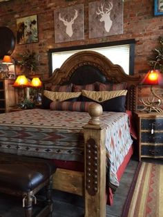 western decorating ideas for the bedroom