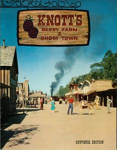 "knotts berry farm in the 1960s | Vintage Disneyland Tickets: Knott's Berry Farm - The ""A"" Ticket part 1"