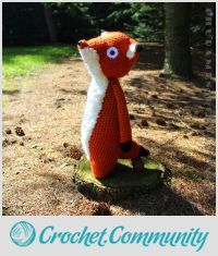 EDITOR'S CHOICE (04/20/2016) Todd The Fox by Chudames View details here: http://crochet.community/creations/4414-todd-the-fox