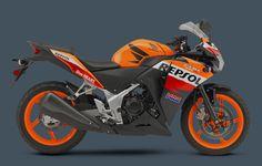Honda CBR250R Repsol Edition