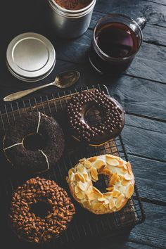 The post Tea Wallpapers Best Sweet Donuts Icing Tea Wallpaper appeared first on ThePhotocrafters. Delicious Donuts, Yummy Food, Donut Icing, Doughnut, Tea Wallpaper, Wallpaper Backgrounds, Food Flatlay, Food Porn, Coffee And Donuts