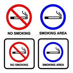 38 Awesome no smoking area images