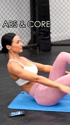 Abs and Core Workout - Lisa Fiitt. Body Weight Hiit Workout, Gym Workout Chart, Gym Workout Videos, Abs Workout Routines, Ab Workout At Home, Gym Workouts, Workout Challange, Workout Abs, Killer Workouts