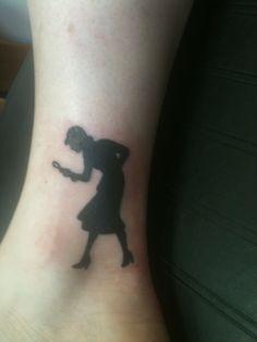 Nancy Drew ankle tattoo