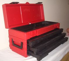 Vintage Craftsman Permanex Tool Box Made in U s A Great Condition | eBay