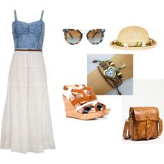 vacation outfit by melissarmanzo on Polyvore