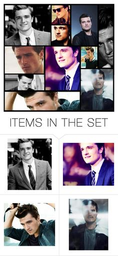 """""""josh hutcherson"""" by heartandsoul ❤ liked on Polyvore featuring art, Hungergames, expression, JoshHutcherson, Actor and artexpression"""