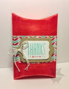 craft wpaper, pillow box, paper craft, dani thought, thought corner, creacion corazón, gift craft