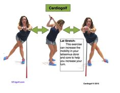 Golf is truly a game which usually requires the entire body. As a result, it's essential that every one of the muscles in the body are actually primed and limbered well. Golf stretches to increas Golf Exercises, Stretching Exercises, Stretches, Men Workouts, Workout Men, Golf Swing Analyzer, Golf Etiquette, Golf Instructors, Golf Training