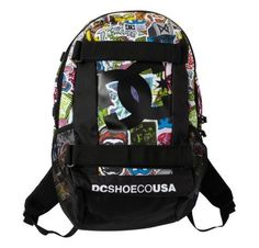 NEW DC SEVEN POINT 5 BACKPACK MULTICOLOR by DC. $40.00. BRAND NEW FROM DC SHOES…