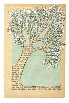 Tree  print by carambatack on Etsy, $25.00