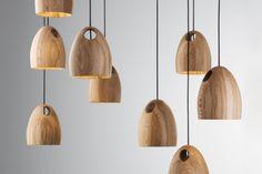 โคมไฟเพดานห้อย Pendant Lamps by Ross Gardam - โคมไฟเพดาน