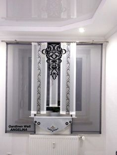 moderne schiebegardinen. Black Bedroom Furniture Sets. Home Design Ideas