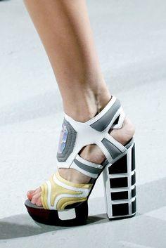 Rodarte Spring/Summer 2013 shoes