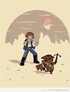 Star Wars + Pokemon =