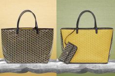 When we heard news like: 'the Goyard Saint Louis Bag reinterpreted', it sounds like music to our ears. Because the St. Louis Bag is an iconic handbag, Goyard Saint Louis, Louis Bag, St Louis, Goyard Bag, Tote Bag, St Claire, Bags, Handbags, Totes