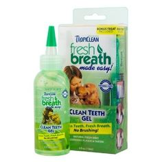 TropiClean Fresh Breath Plaque Remover Cat and Dog Clean Teeth Gel Kit 4 oz >>> Click on the image for additional details. (This is an affiliate link and I receive a commission for the sales)
