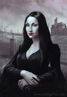 Mona Morticia-- Vampire or Not?