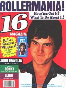 16 Magazine and the Bay City Rollers!