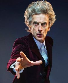 Peter Capaldi, the Twelfth Doctor. Doctor, your Three and Four are showing! Not that I have any objections.