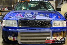 May 2013 winner: Jon Sczerba and his 1990 Audi 90 Quattro. Read the article at: http://www.precisionturbo.net/news/Boosted-Ride-of-the-Month--May---Jon-Sczerba-s-1990-Audi-90-Quattro/189
