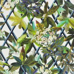 canopy - saphir wallpaper | Christian Lacroix