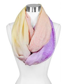 Paisley Infinity Scarf in Sweet Ombre Lemay Lemay De Groof Hijab Fashion, Fashion Outfits, Womens Fashion, Fashion Trends, Paisley, Fashion Jewelry Necklaces, Love Hair, All About Fashion, Dress Me Up