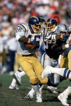 Chuck Muncie, San Diego Chargers: 1980-1984