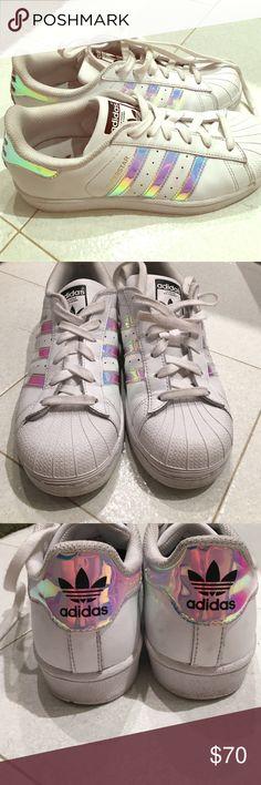buy popular f1052 b57aa ... Adidas superstar j hologram iridescent (youth) Selling my adidas  hologram, ...