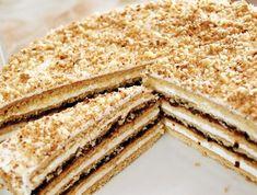 STAROČESKÝ MEDOVNÍK | Recepty Oreo Cupcakes, Vanilla Cake, Tiramisu, Ethnic Recipes, Desserts, Food, Crafts, Ideas, Food Cakes