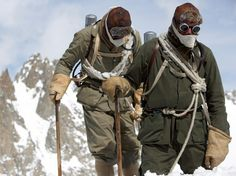 See photos of Everest climbers George Mallory, Conrad Anker, and others.